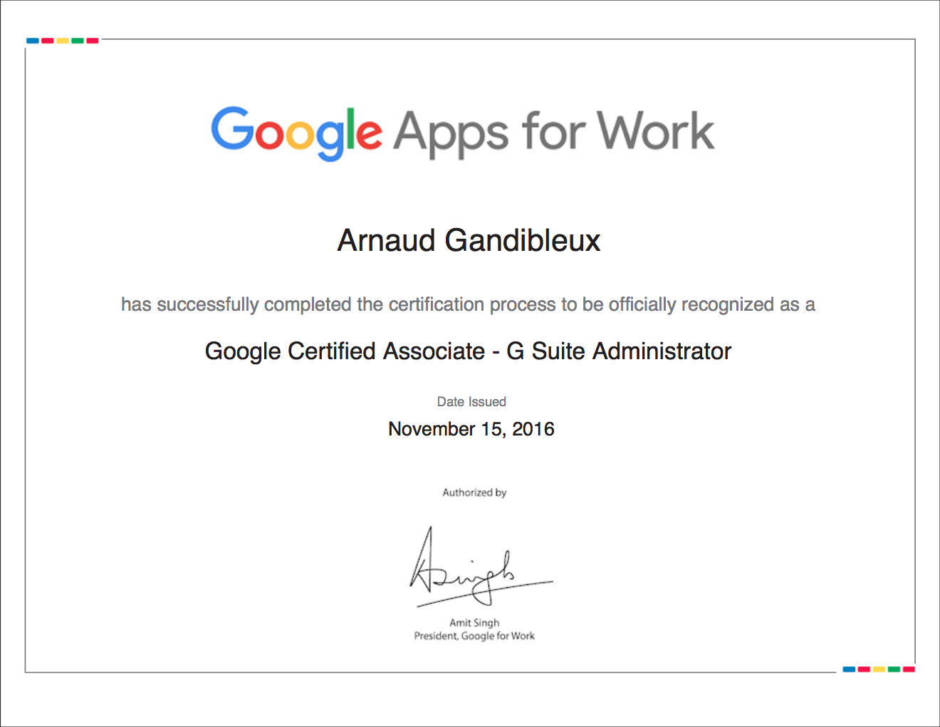 Google Certificate Badge